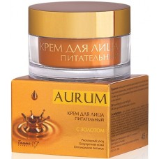 Aurum. Barojošs krēms sejai ar zeltu (45 gr)